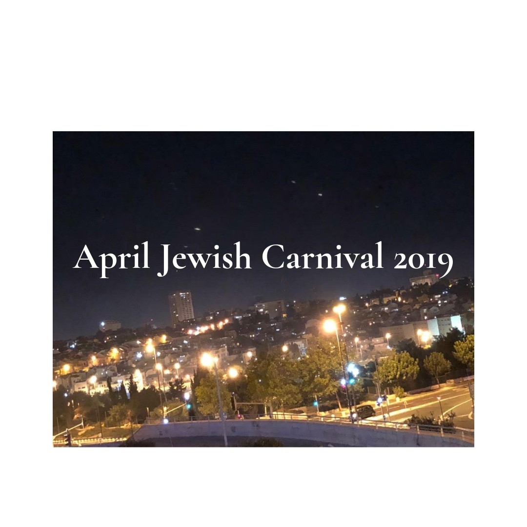 April Jewish Carnival coming soon